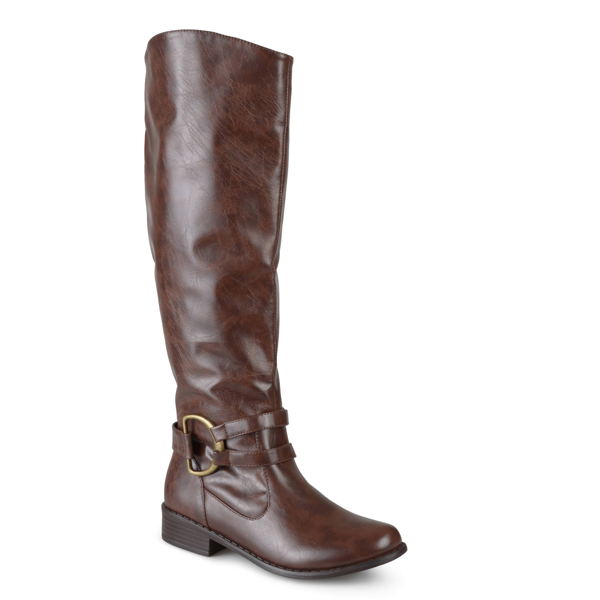 Brinley Co. Women's Knee-High Riding Boots by Brinley Co.