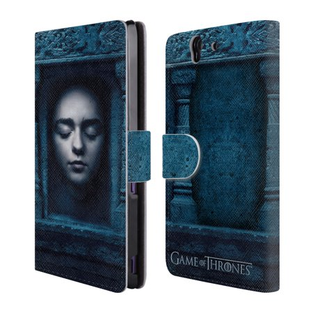 Official Hbo Game Of Thrones Faces 2 Leather Book Wallet Case Cover For Sony Phones 1