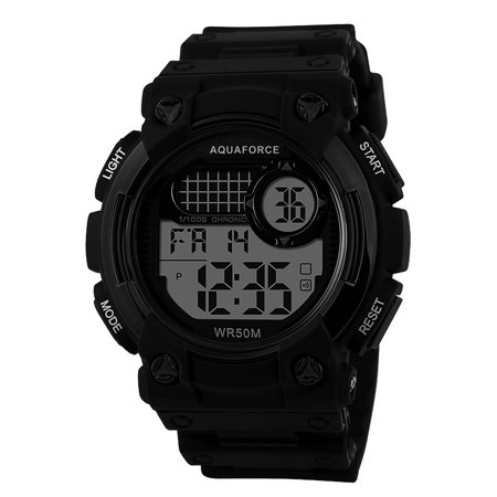Aqua Force Digital Combat Arnold Field Watch (50M water (Arnold's Halloween Watch Online)