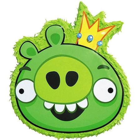 Green Pig Angry Birds Pinata