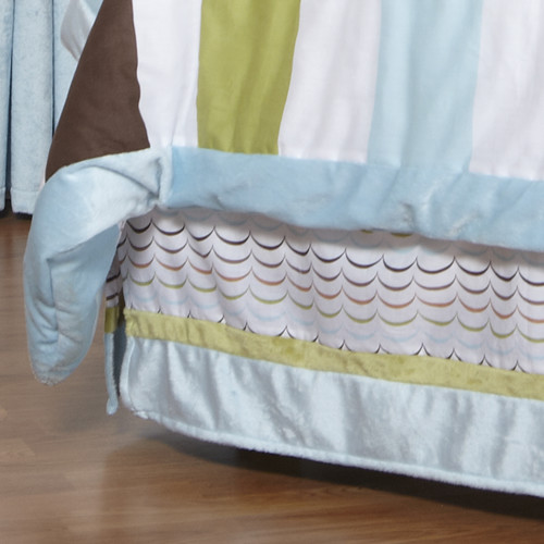 One Grace Place  Puppy Pal Boy's Twin Bedskirt