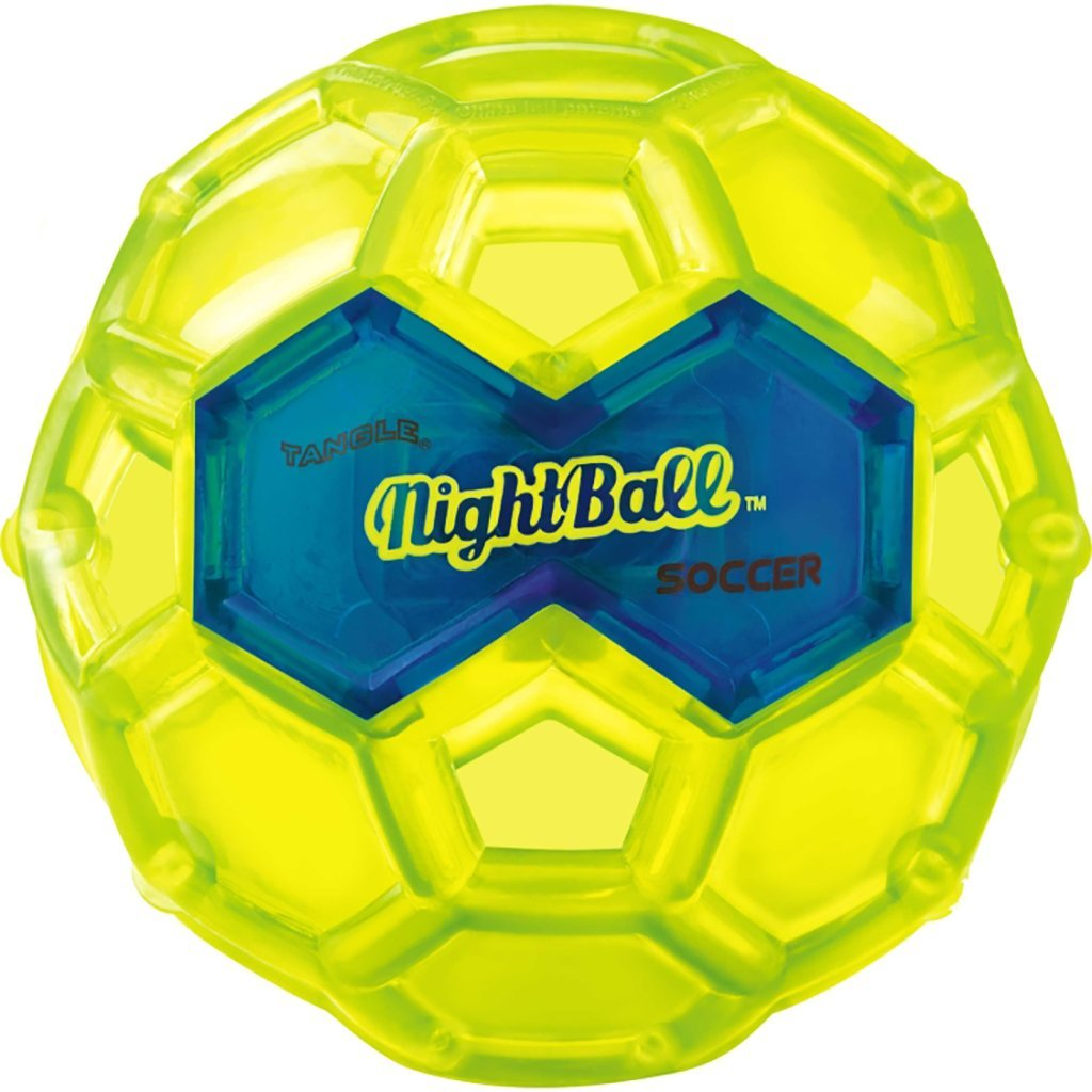 NightBall Glow in the Dark Light Up LED Soccer Ball, Small, Ball Water Set Uses NightBall... by