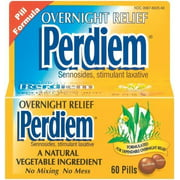 Overnight Relief, Pill Formula 60 ea (Pack of 2) by, Perdiem Overnight Relief, Pill Formula 60 ea (Pack of 2) By Perdiem Ship from US