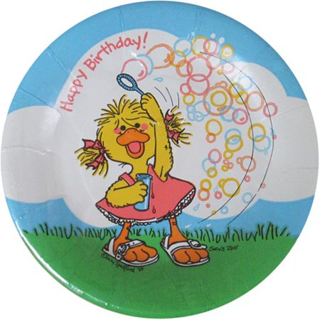 Little Suzy's Zoo Vintage Small Paper Plates (10ct) (Zoo Plates)