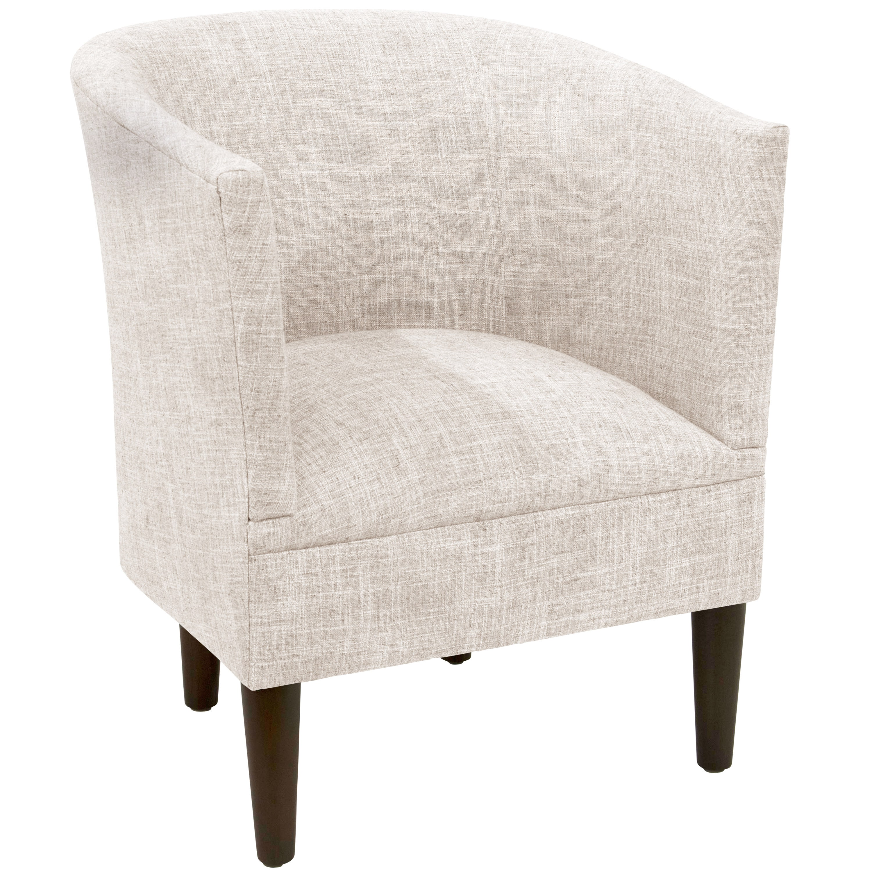 Skyline Furniture  Skyline Zuma White Tub Chair