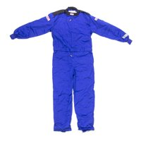G-Force Blue Small Single Layer GF145 1 Piece Driving Suit P/N 4145SMLBU