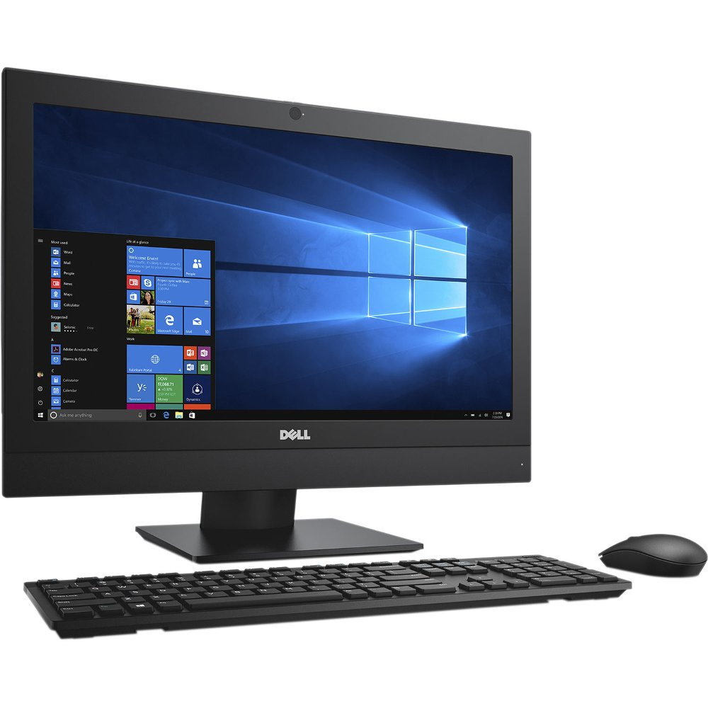 "REFURBISHED Dell OptiPlex 3030 AIO 20"" All-in-One Computer 4th Gen Intel Core i5-4590S Quad 3.0GHz, 4GB Ram, 500GB HDD, WebCam, WIFI, Windows 10 Professional, Wireless Keyboard/Mouse"