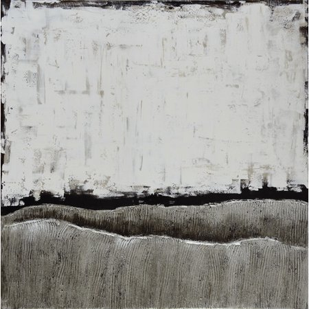 Empire Art Direct White Atmosphere Textured Metallic by Martin Edwards Painting