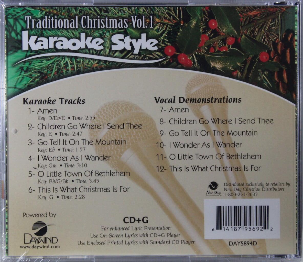 Kids Christmas Volume 1 Christian Karaoke Style New Cd+g Daywind 6 Songs Karaoke Entertainment Musical Instruments & Gear