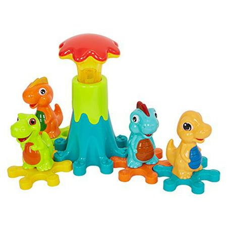 KARMAS PRODUCT Blocks Dinosaur Paradise Toy Gear Paradise Play Set for Boys Girls Children's Puzzle Toys Gear Set Toys