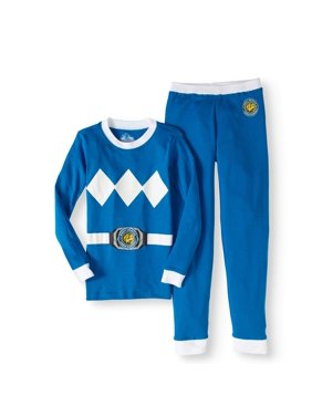 Mighty Morphin Power Ranger Green Ranger Cotton 2Pc Tight Fit Pajama(Little Boys & Big Boys)
