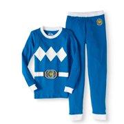 Mighty Morphin Power Ranger Green Ranger Cotton 2Pc Tight Fit Pajama(Little Boys & Big Boys)