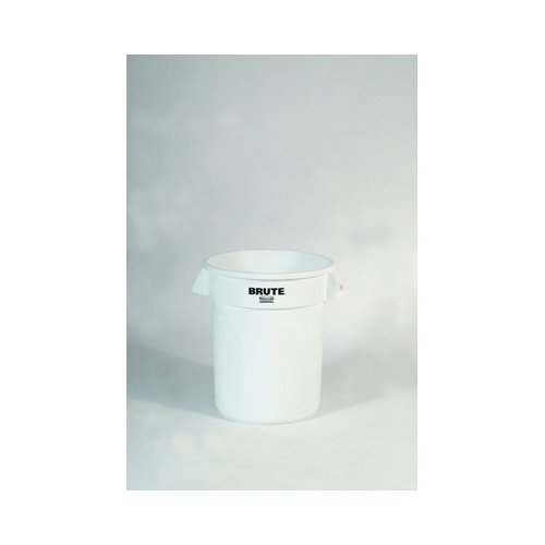 Rubbermaid Commercial Products Brute Refuse Container in White