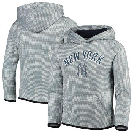 New York Yankees Youth Polyester Fleece Sweatshirt - Gray