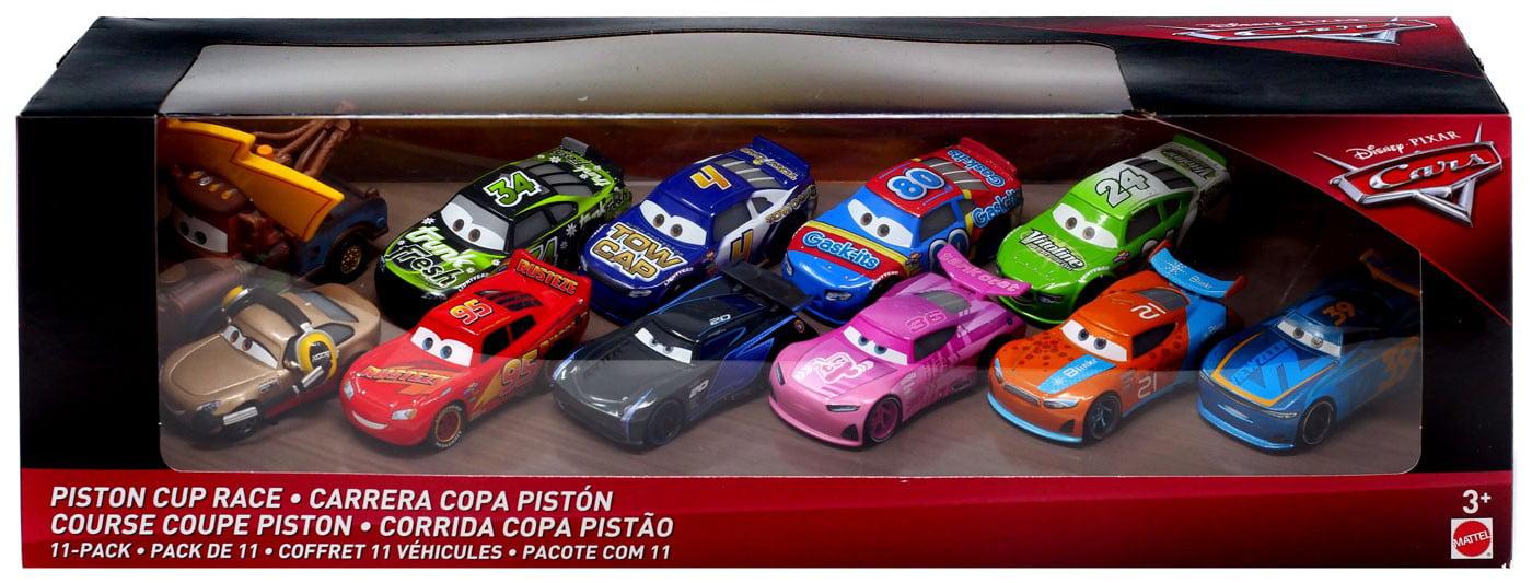 Disney Pixar Cars Cars 3 Piston Cup Race Diecast Car 11 Pack