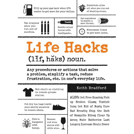 Life Hacks : Any Procedure or Action That Solves a Problem, Simplifies a Task, Reduces Frustration, Etc. in One's Everyday Life](Diy Halloween Life Hacks)