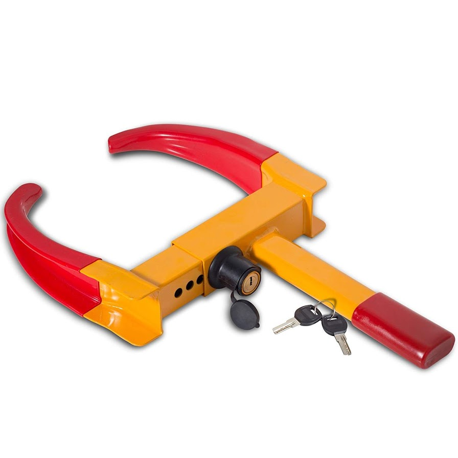 New Clamp Boot Tire Claw Trailer Truck Anti-Theft Towing Auto Wheel Lock