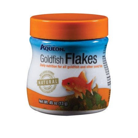 Aqueon Goldfish Flaked Fish Food, 0.45 Oz