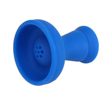 Unbreakable Silicone Blue Hookah Bowl Silicone Unbreakable Shisha Bowl, This is the newest invention in shisha bowls! you may be surprised thinking burning.., By Hookah (Best Hookahs For Sale)