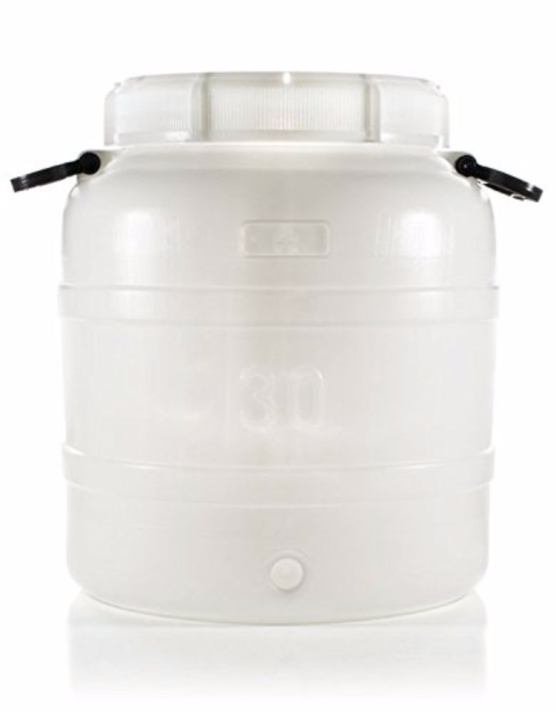 30L Plastic Fermenter with Handles (7.9 Gallon) by Home Brew Ohio