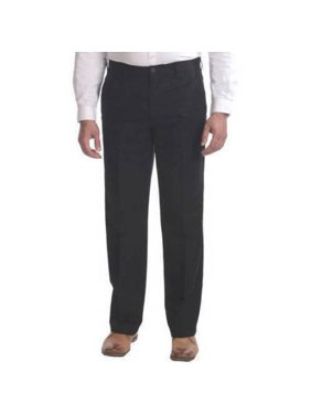 product image big mens flat front wrinkle resistant pants