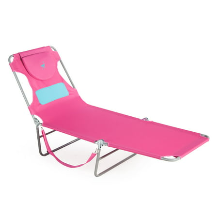 Ostrich Ladies Comfort Chaise Lounge - Ostrich Folding Chaise