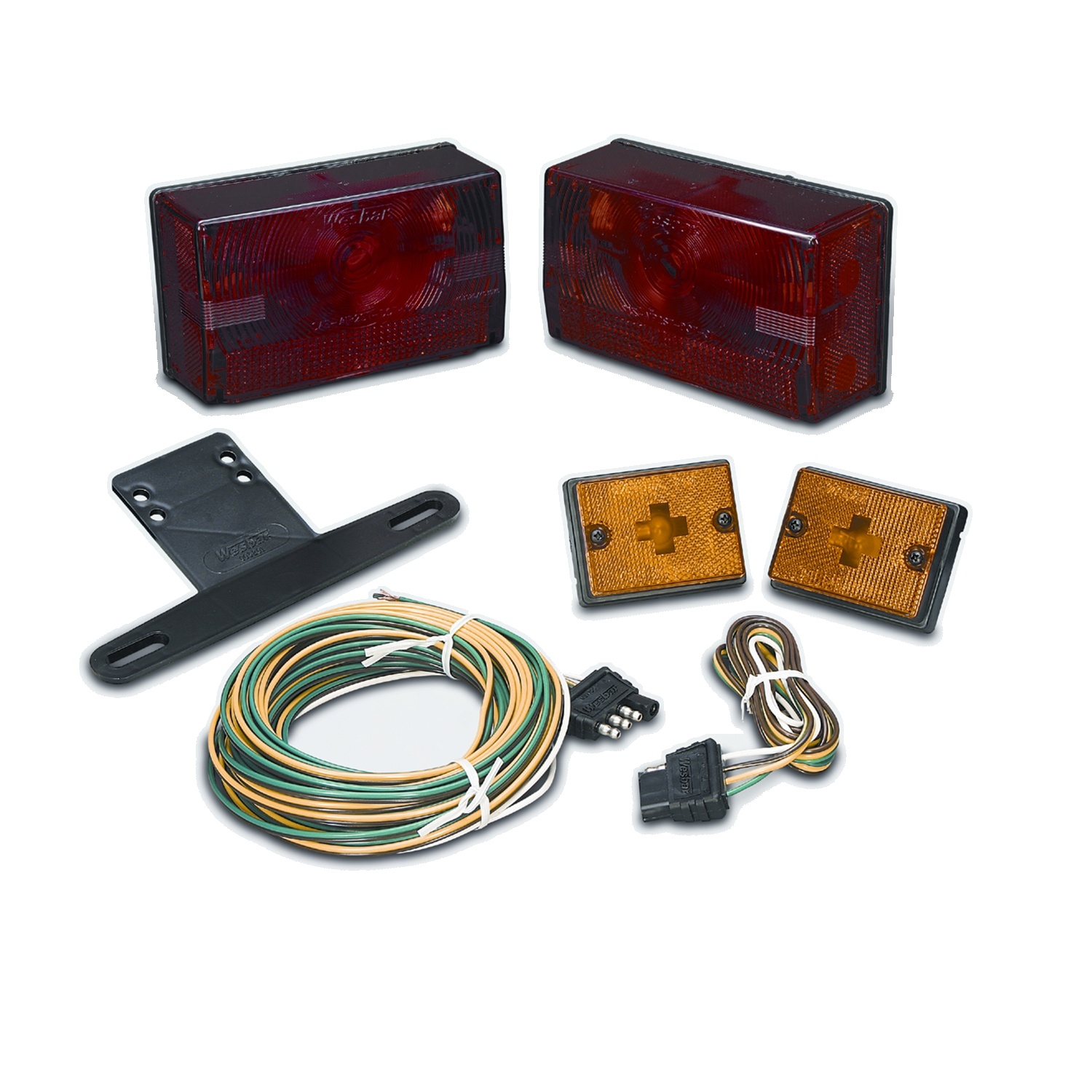 Wesbar 417515 Trailer Light Kit Incl  20 Ft  Wire Harness