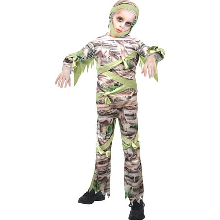 Sew It Yourself Halloween Costumes (Slimy Mummy Halloween Costume for Boys,)