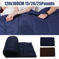 47x70'' Navy blue Weighted Blanket Heavy Sensory Anxiety Deep Sleep Relief Kids Adult
