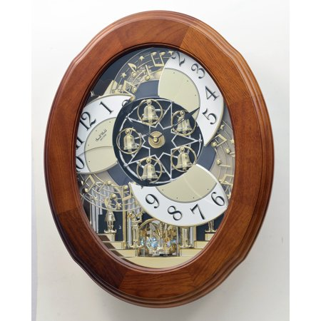 Rhythm Magic Motion Musical Clock with Micro Cleaning Kit (Joyful Nostalgia) (Rhythm Lace)