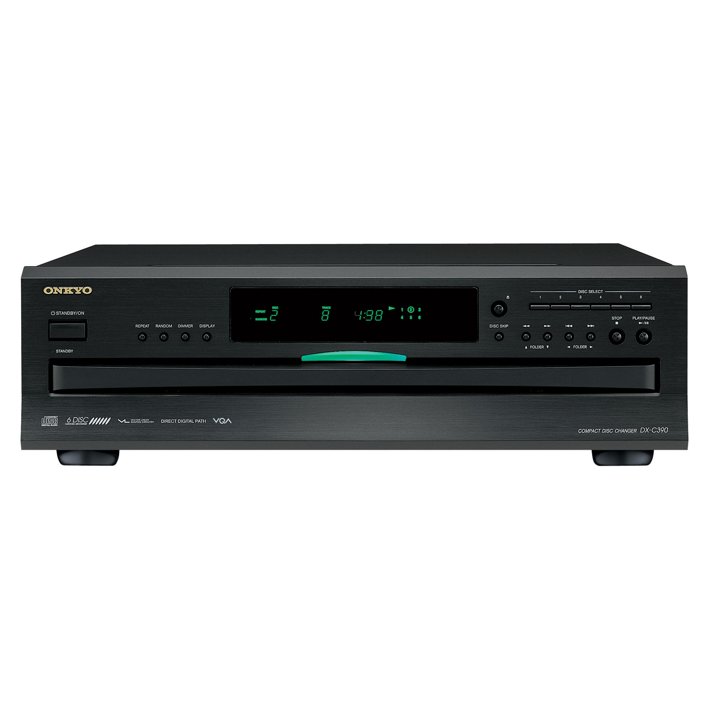 Onkyo DXC390 6 Disc CD Player (Additional Components Needed For CD Functionality) by Onkyo