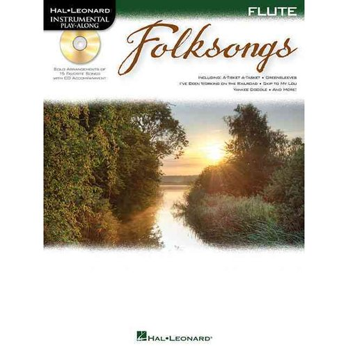 Folksongs: Instrumental Play-along for Flute