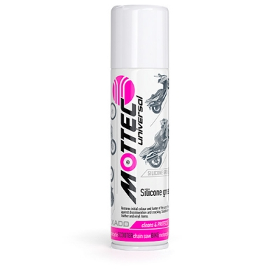 Mottec Silicone lubricant grease Cleans and Protects Bicycle Motorcycle Scooter Chainsaw