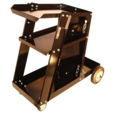 Mountain MTNWECART Welding Cart Portable Machine Heavy-duty 3-shelf ()