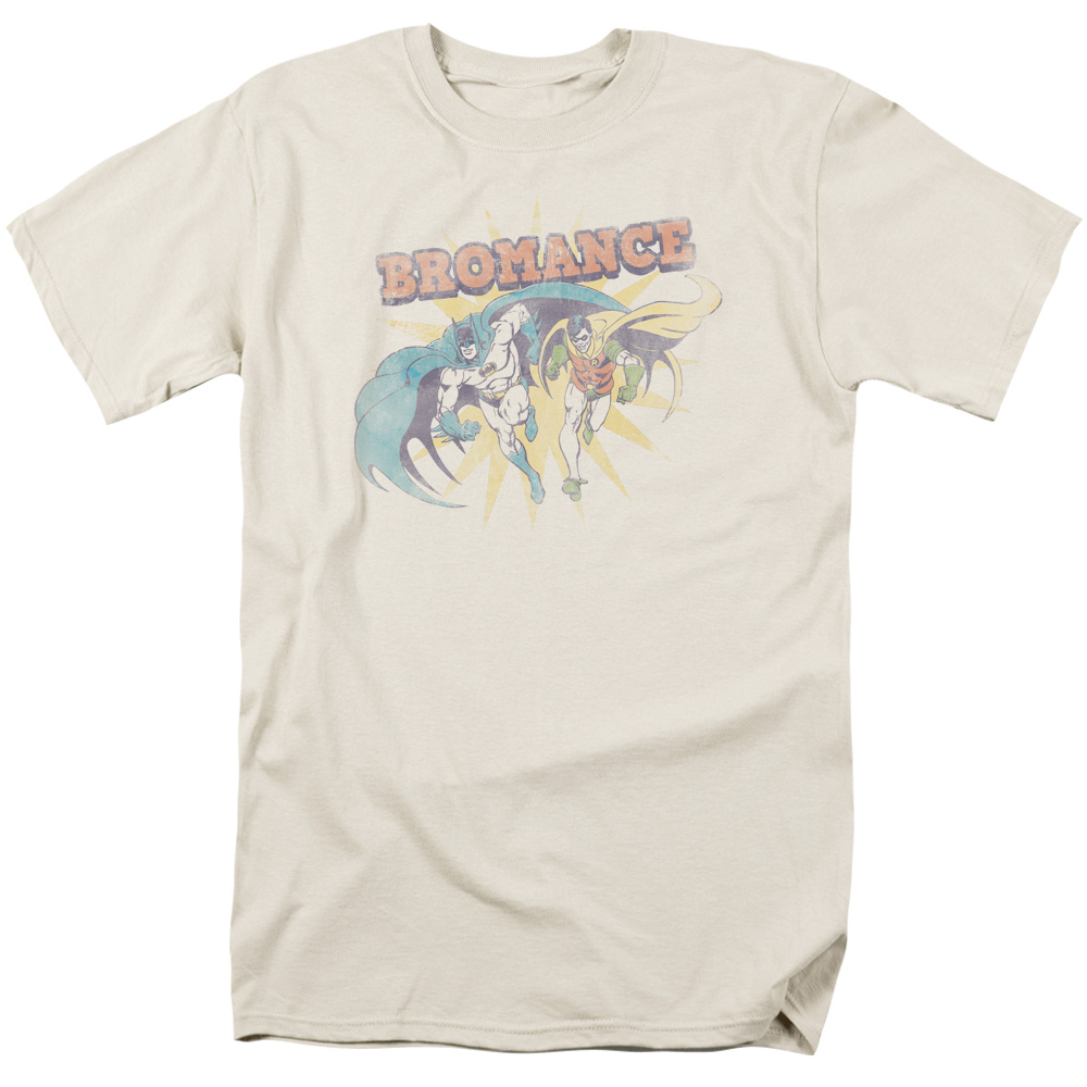 Trevco DC BROMANCE Cream Adult T-Shirt