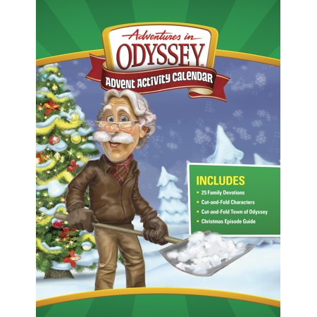 Adventures in Odyssey Misc: Adventures in Odyssey Advent Activity Calendar: Countdown to Christmas (Paperback)