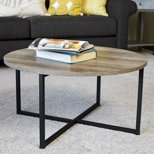 Charmant Household Essentials Ashwood Round Coffee Table