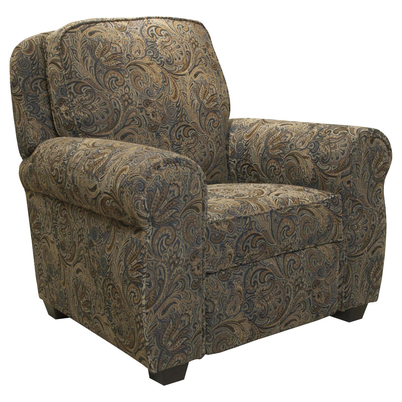 Jackson Downing Press Back Recliner   Persian   Walmart.com