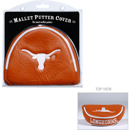 Team Golf NCAA Texas Golf Mallet Putter Cover