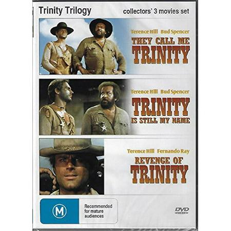 Trinity Trilogy ( Lo chiamavano Trinità / Continuavano a chiamarlo Trinità / La collera del vento ) ( My Name Is Trinity / Trinity Is Still My Name / Revenge Of Trinity