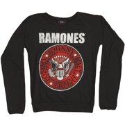 Ramones Red Seal Girls Jr  Long Sleeve X-Small Black