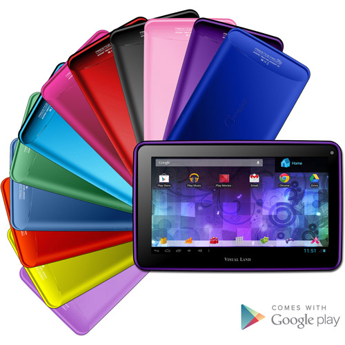 "Visual Land Prestige 7"" Dual Core Tablet 8GB"