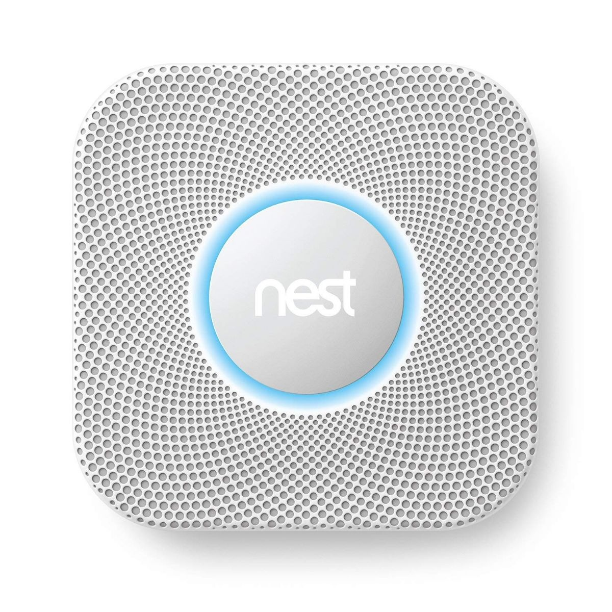 Nest Protect Smoke + Carbon Monoxide Detector - White (Battery Version) S2001BW (Refurbished)