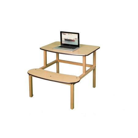 Zoo sauvage de meubles sd MPL-BRN-wz -tudiants Bureau - Maple-Brown - image 1 de 2