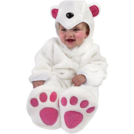 Baby Polar Bear Costume (Kids Polar Bear Costume)
