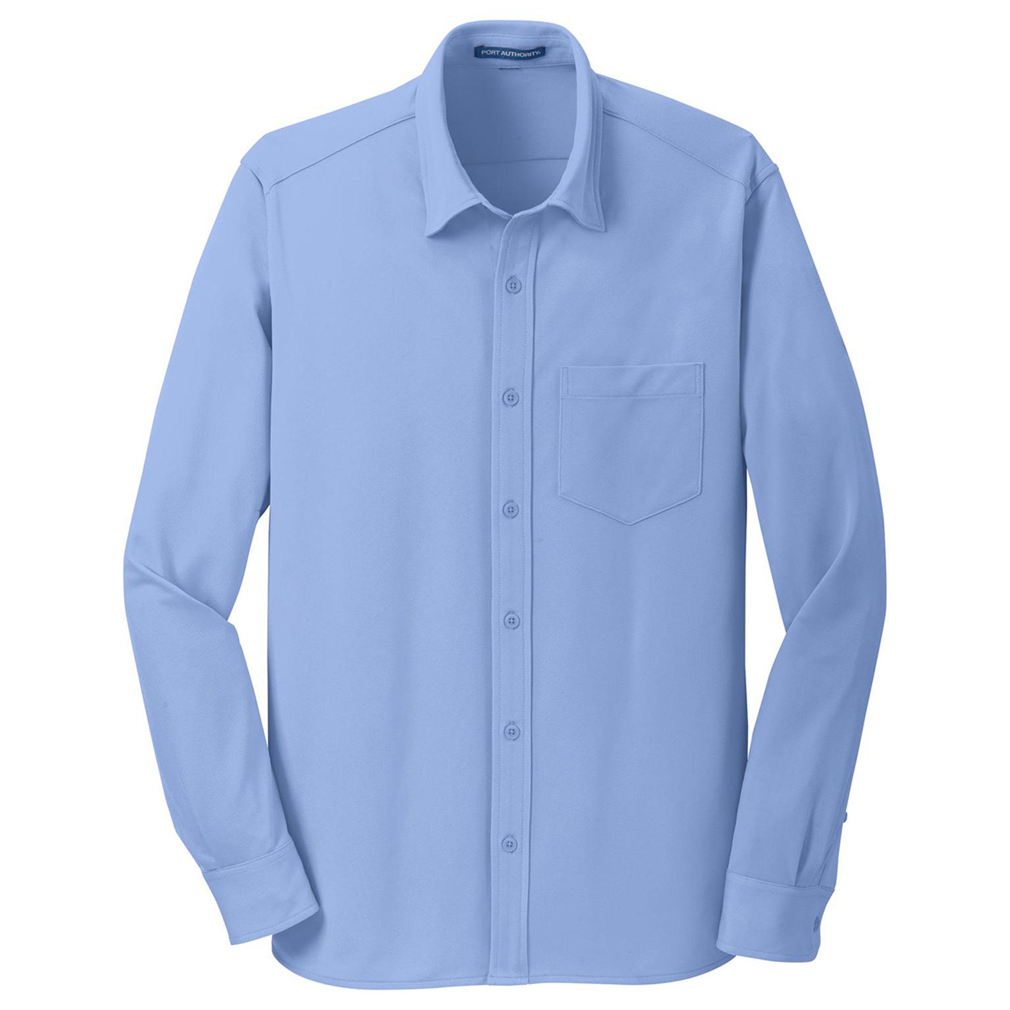 Port Authority Port Authority Mens Dimension Knit Dress Shirt
