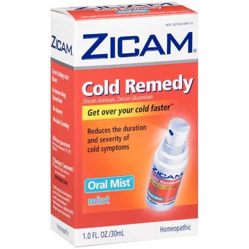 Zicam Oral Mist Mint Cold Remedy 1 Fl Oz