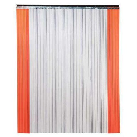 TMI 999-00521 Industrial Strip Door,Ribbed,8ftHx3ftW G9602686