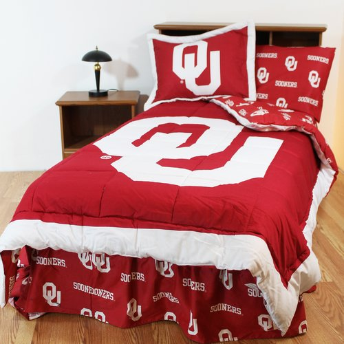 College Covers NCAA Oklahoma Bed in a Bag Set