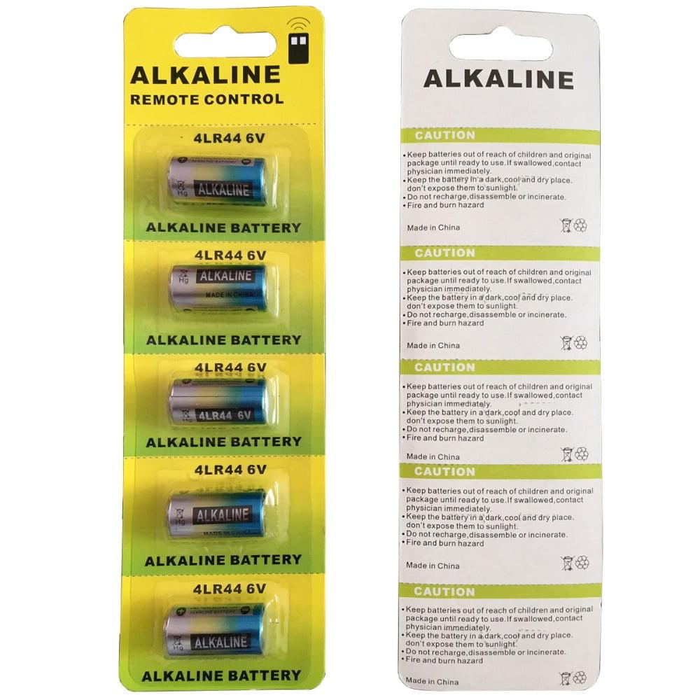 4LR44 / 476A / PX28A / A544 / K28A / L1325 Dog Collar 6 Volt Batteries - 10 Pack